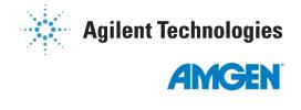 Agilent and Amgen logo combined