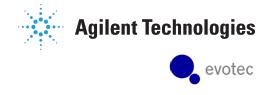 Combined Agilent Evotec logo