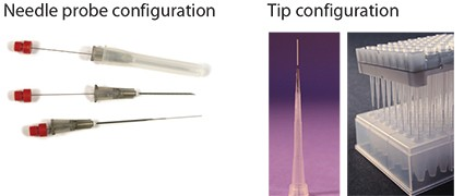 Figure 4. Tip and Probe Biocompatible SPME Configurations