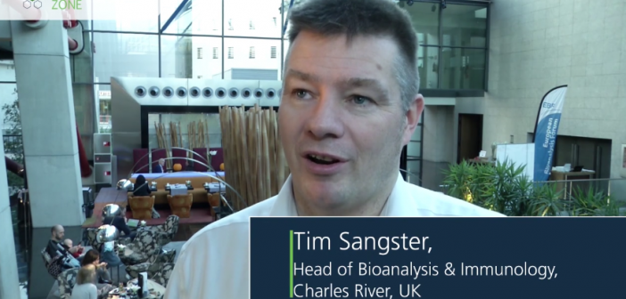 Interview with Tim Sangster (Charles River, UK) who shares his enthusiasm for bioanalysis and molecular gastronomy