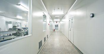 Laboratory corridor
