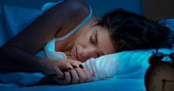 Woman sleeping shutterstock_229267837