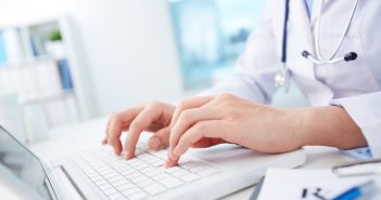 shutterstock_211464964 typing doctor