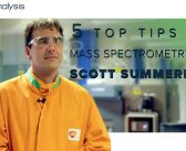 Scott Summerfield: 5 top tips for mass spectrometry
