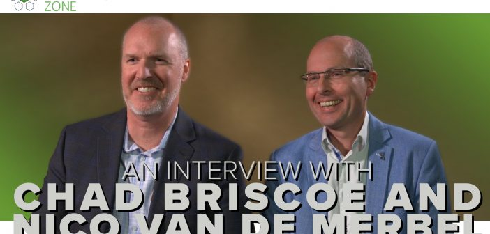 An interview with Chad Briscoe and Nico van der Merbel on large molecules and mass spectrometry