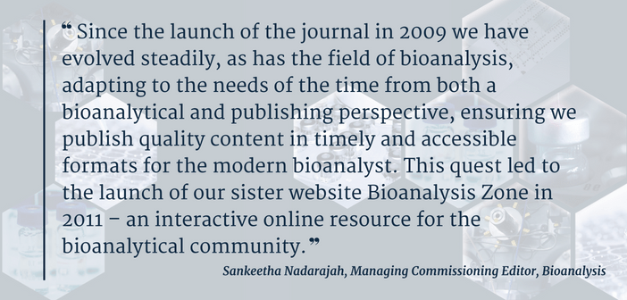 Sankeetha Nadarajah quote from 200th issue foreward
