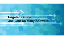 Waters targeted omics library