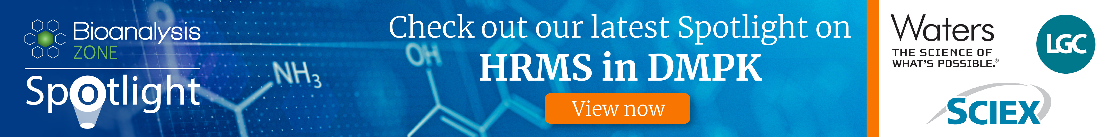 HRMS in DMPK banner