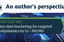 Yie Hou Lee on retention time bracketing for targeted sphingolipidomics by LC–MS/MS