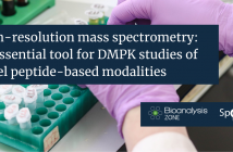High-resolution mass spectrometry: an essential tool for DMPK studies of novel peptide-based modalities
