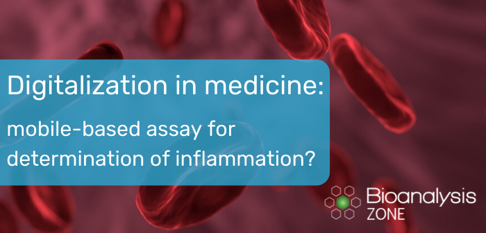 Digitalization in medicine: mobile-based assay for determination of inflammation?