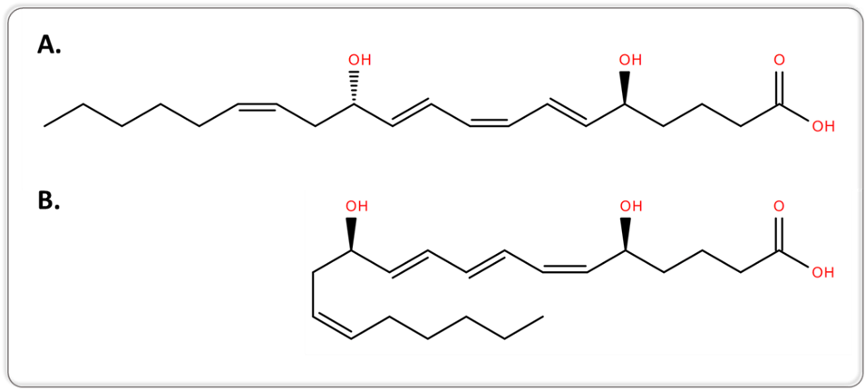 2d-structures-of-5S,12S-DiHETE-LTB4