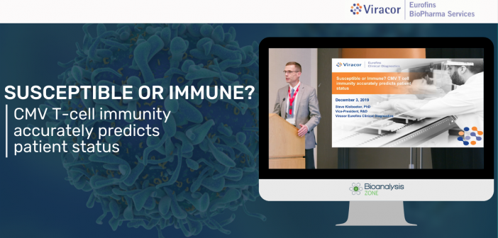 Susceptible or immune? CMV T-cell immunity accurately predicts patient status