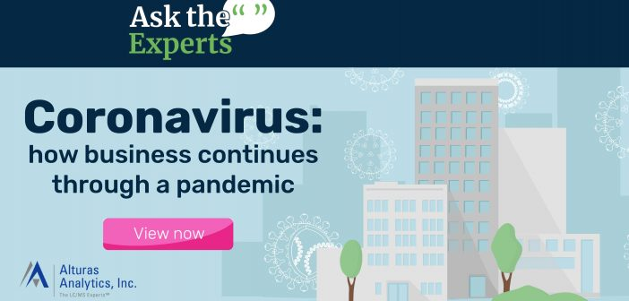 Ask the Experts: how business continued through the COVID-19 pandemic