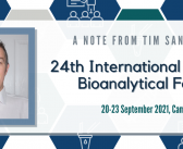 A note from Tim Sangster – the 24th Reid International Bioanalytical Forum